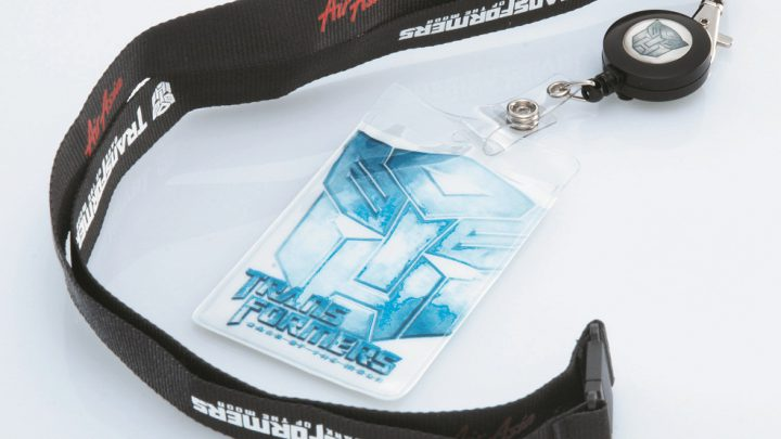 AirAsia's Transformers Dark of the Moon Lanyard & 3D Embroidery Cap