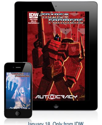 IDW Publishing Will Reveal Transformers: Autocracy Teaser