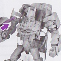 Alternate Head For DOTM Soundwave Spotted