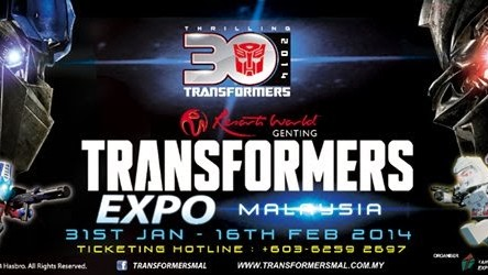 Transformers Expo Malaysia 2014 Soft Launch