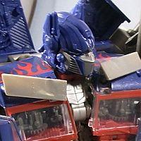 Up Close DA-28 Striker Optimus Prime