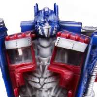 Trilogy Series Unveiled Deluxe Optimus Prime with Trailer