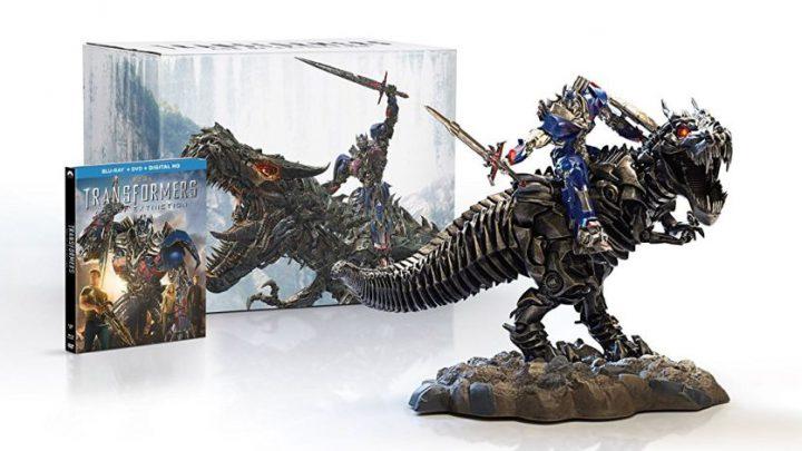 Amazon Offering Transformers AOE Grimlock & Optimus Gift Set Statue